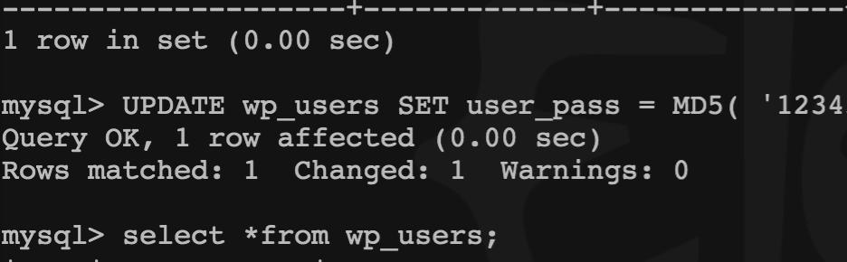 《wordpress忘记登录密码,更改域名的办法。》
