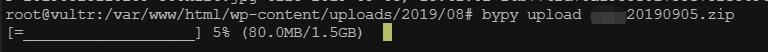 《使用bypy从ubuntu通过命令行上传文件到百度云》