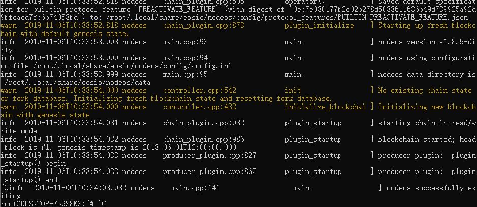 《EOS私链搭建中间的经验与踩坑分享(基于V1.8.5)》